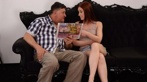 Hardcore fuck of a teen cowgirl with hot ass Minnie Manga and an oldman