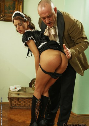 Hardcore sex with a milf maid Sophie Lynx and her harsh boss