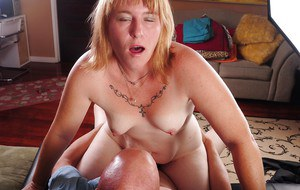 Fatty mature Bethany has her tight ass nailed hardcore after blowjob