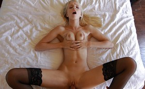 Hardcore gonzo action features blonde cowgirl Sierra Nevadah