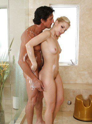 Amateur fuck scene features milf pornstar Ashley Fires and her man