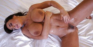 Mature mom Lisa Ann has her big tits and tight ass fucked hardcore