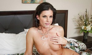 India Summer is being pounded in her lovely shaved pussy and face
