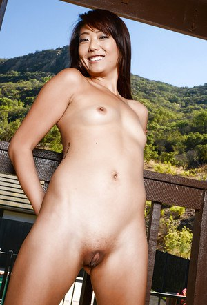 Asian cutie Miko Dali is showing off her stunning small boobies
