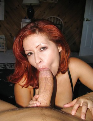 slim red hot cougar swallow a load