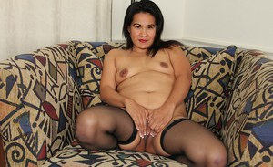 Latina Susie Jhonson demonstrates her pretty-looking big ass