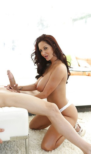 Milf Ava Addams is sucking this youngster\