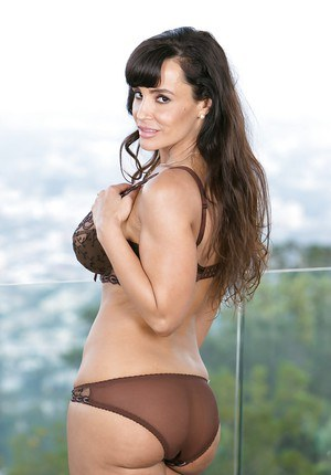 Mom Lisa Ann shows off her amazing big boobies and nice butts!