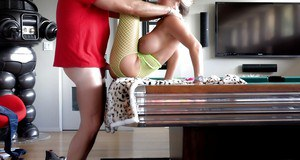 Awesome mature blonde Sandra Otterson gets drilled deep in her snatch