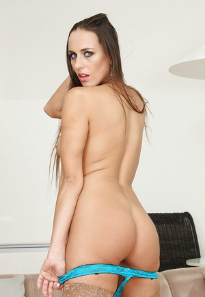 Brunette Mea Melone shows off her amazing fuckable booty on cam