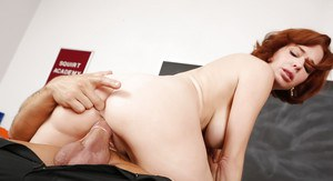 Perverted teacher Veronica Avluv is swallowing a juicy big dong