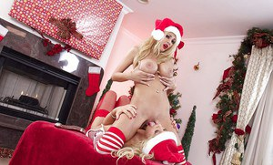 Zoey Monroe and Kayla Kayden are playing with their special dildos