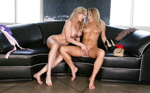 Lesbians Brandi Love and Carter Cruise are screwing so hard!