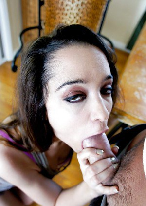 Alluring housewife Nikki Next is getting fucked in her mouth