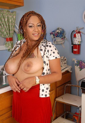 Sweet fatty ebony Silvia is playing with her cute moist hole
