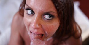 Hottest mature model Janet Mason is riding her hardcore friend