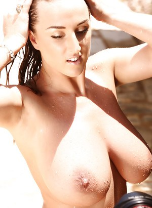 Babe from Europe Stacey Poole demonstrates her charming body forms