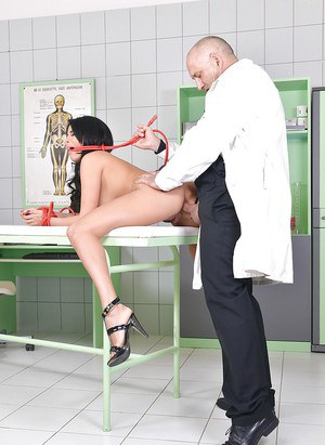European slut Anissa Kate takes part in surprising BDSM procedure