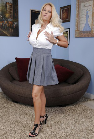 Charlee Chase is a Milf that has some seriously extra big tits