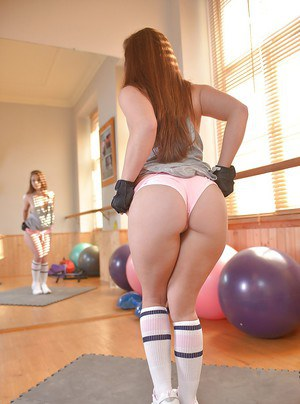 Jenny is a sporty tattooed teen with a plump ass that looks great