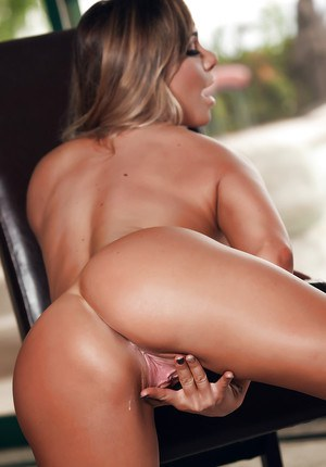 Tanned fuck doll Destiny Dixon flaunts her pussy and pierced boobs