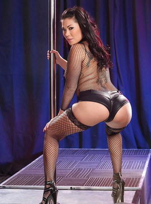 The ass on Asian babe London Keyes looks good enough to bite into