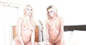Intense tongue action between lesbos Anikka Albrite and Jessa Rhodes
