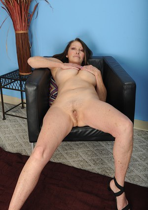 Massive boobs are set loose when BBW mature Jane McWilliams gets naked