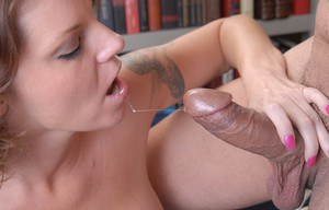 Naughty older lady Kayla gets face fucked by a BBC and swallows cum
