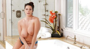 Chubby lovers will love the all natural hooters on BBW Alison Tyler