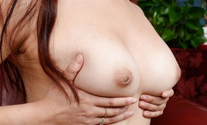 Close up shots of spread pink twat belonging to Asian first timer Lea Hart