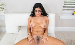 Amazing brunette MILF Selena Kyle enjoying a cock penetrating her cunt