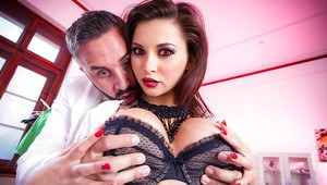 Big ass European babe Anna Polina getting fucked in a nurse outfit