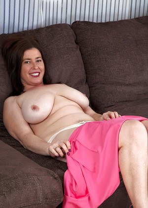 Older broad Janey flashes her hairy armpits and white panties