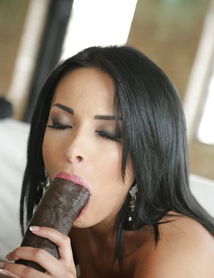 European pornstar Anissa Kate takes a monster sized black cock in asshole