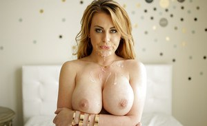 Blonde MILF Corrina Blake and her hanging tits take doggystyle fucking