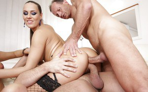 Wicked swinger sex with Mea Melone, Victoria Daniels and Laura Crystal