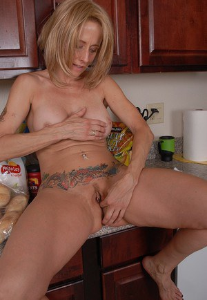 Busty licking kitchen thanks