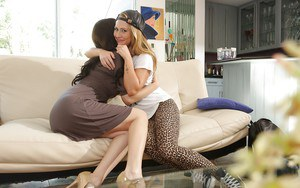 Older and younger lesbians sex with Jelena Jensen and Carter Cruise