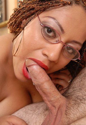 Aged black chick Silvia having fat schoolteacher juggs fondled by student