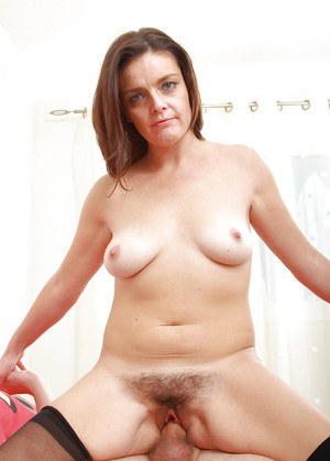 Mature MILF first timer Marie having furry pussy fingered and licked