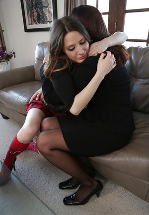 Mature woman Magdalene St Michaels seduces teen girl Samantha Bentley