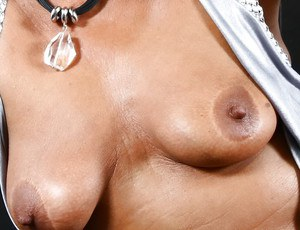 Older European broad Lady Sarah spreading shaved pussy for close ups