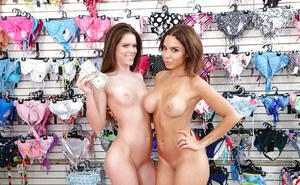 Lovely Latina prostitutes Dylan Daniels and Stacey Levine fuck and suck