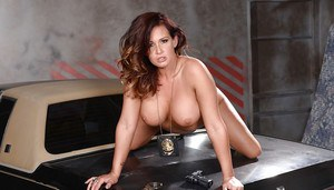 MILF cop Tory Lane revealing big undercover hooters and perfect ass