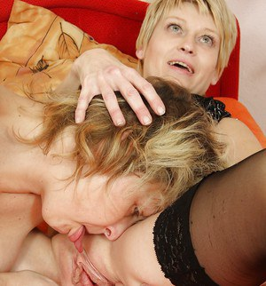 Sorry, mature lesbian stockings blonde