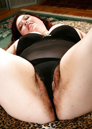 Older fatty with hairy underarms and big saggy tits revealing beaver