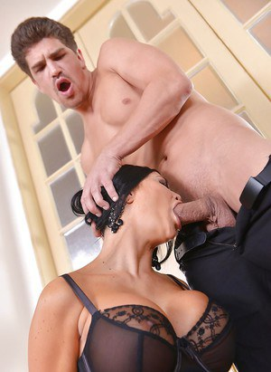 Stocking attired MILF fetish model Jasmine Jae stars in MILF BDSM sex scene