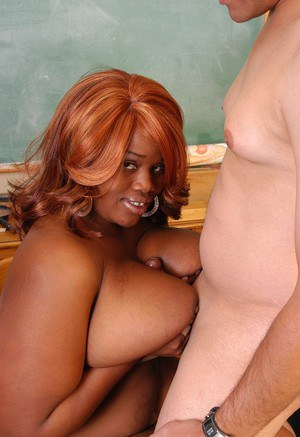 SSBBBW teacher Princess unveiling massive saggy tits in classroom