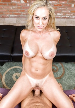 Busty MILF pornstar Brandi Love riding big cock with cuckold's blessing